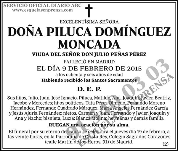 Piluca Domínguez Moncada